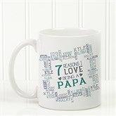 Reasons Why For Him Personalized Coffee Mug 11 oz.- White - 16921-W