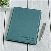 Signature Series Personalized Junior Portfolio-Teal - 16940-T