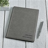 Signature Series Personalized Junior Portfolio-Charcoal - 16940-C