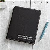 Signature Series Personalized Junior Portfolio-Black - 16940-B