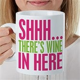Funny Morning Quote Personalized 30oz. Oversized Coffee Mug - 16952