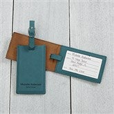 Signature Series Personalized Bag Tag- Teal - 16955-T