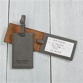 Signature Series Personalized Bag Tag- Charcoal - 16955-G