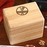 Family Brand Personalized Recipe Box - 16962