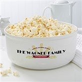Movie Night Personalized Snack Bowl- Large - 16965-L