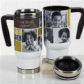 Photo Fun For Him Personalized Commuter Travel Mug - 16971