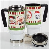 Christmas Photo Message Personalized Commuter Travel Mug - 16976