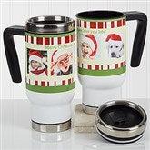 Christmas Photo Message Personalized Commuter Travel Mug - 16976