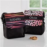 Animal Print Personalized Lunch Tote - 16987
