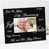 Anniversary Wishes Personalized Frame - 1701