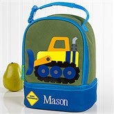 Construction Embroidered Lunch Bag by Stephen Joseph - 17030