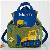 Construction Embroidered Kid's Backpack by Stephen Joseph - 17032