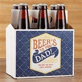 Father's Day Personalized Bottle Carrier - 17040-C