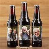 Cheers To Dad Personalized Beer Bottle Labels- Set of 6 - 17041