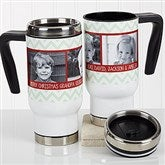 Picture Perfect Christmas Personalized Commuter Travel Mug - 17042