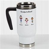 Character Collection Personalized Commuter Travel Mug - 17044