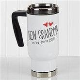 Grandparent Established Personalized Commuter Travel Mug - 17048
