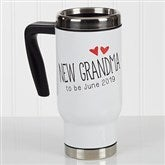 Grandparent Established Personalized Commuter Travel Mug - 17048