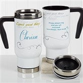 Cup Of Inspiration Personalized Commuter Travel Mug - 17052
