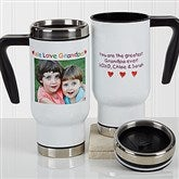 Personalized Photo Message For Him Travel Mug - 17054