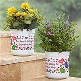 My Heart Belongs To Personalized Outdoor Flower Pot - 17063