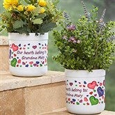 My Heart Belongs To Personalized Outdoor Flower Pot - 17063