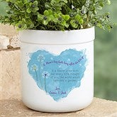 A Mom's Hug Personalized Outdoor Flower Pot - 17066