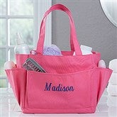 Pink Perfection Embroidered Shower Caddy- Name - 17071-N
