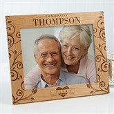 Celebrating Their Love Personalized Anniversary Frame- 8 x 10 - 17076-L
