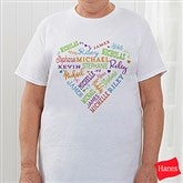 Close To Her Heart Personalized Hanes® T-Shirt - 17080-T