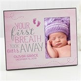 You Took Our Breath Away Personalized Picture Frame - 17083