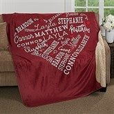 Close To Her Heart Personalized Premium Sherpa Blanket - 17086