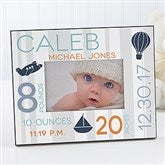 Sweet Baby Boy Personalized Picture Frame - 17087