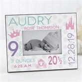 Sweet Baby Girl Personalized Picture Frame - 17088