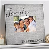 Together Forever Personalized 5x7 Family Wall Frame - 17098