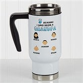 His Reasons Why Personalized Commuter Travel Mug - 17132