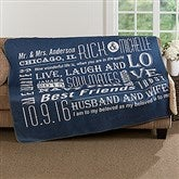 Our Life Together Personalized Premium Sherpa Blanket - 17152