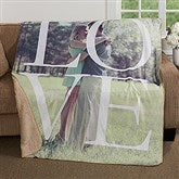 LOVE Personalized Premium 50x60 Sherpa Blanket - 17153