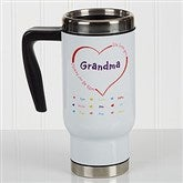 All Our Hearts Personalized Commuter Travel Mug - 17160