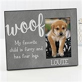 Woof Pet Personalized Picture Frame - 17202