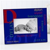 All About Baby For Him Personalized Frame - 17204
