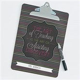 Teacher Quotes Personalized Clipboard - 17216
