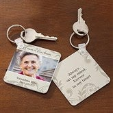 In Loving Memory Personalized Photo Key Ring - 17239