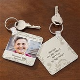 In Loving Memory Personalized Photo Keyring - 17239