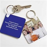 Picture Perfect Coach Personalized Keychain - 17240