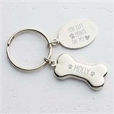 Dog Memorial Personalized Keychain - 17242