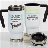 I'm Retired Personalized Retirement Commuter Travel Mug - 17256