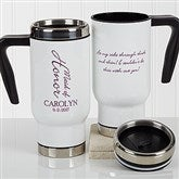 Bridal Brigade Personalized Wedding Commuter Travel Mug - 17257
