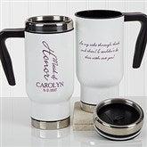 Bridal Brigade Personalized Wedding Commuter Travel Mug - 17257