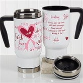 Love Life Personalized Commuter Travel Mug - 17259
